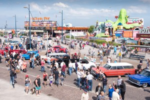 The National Street Rod Association Fun Run on Marine Parade, Great Yarmouth. Nostalgic Hot Rods, Street Rods & American Custom Cars. Picture: James Bass Photography